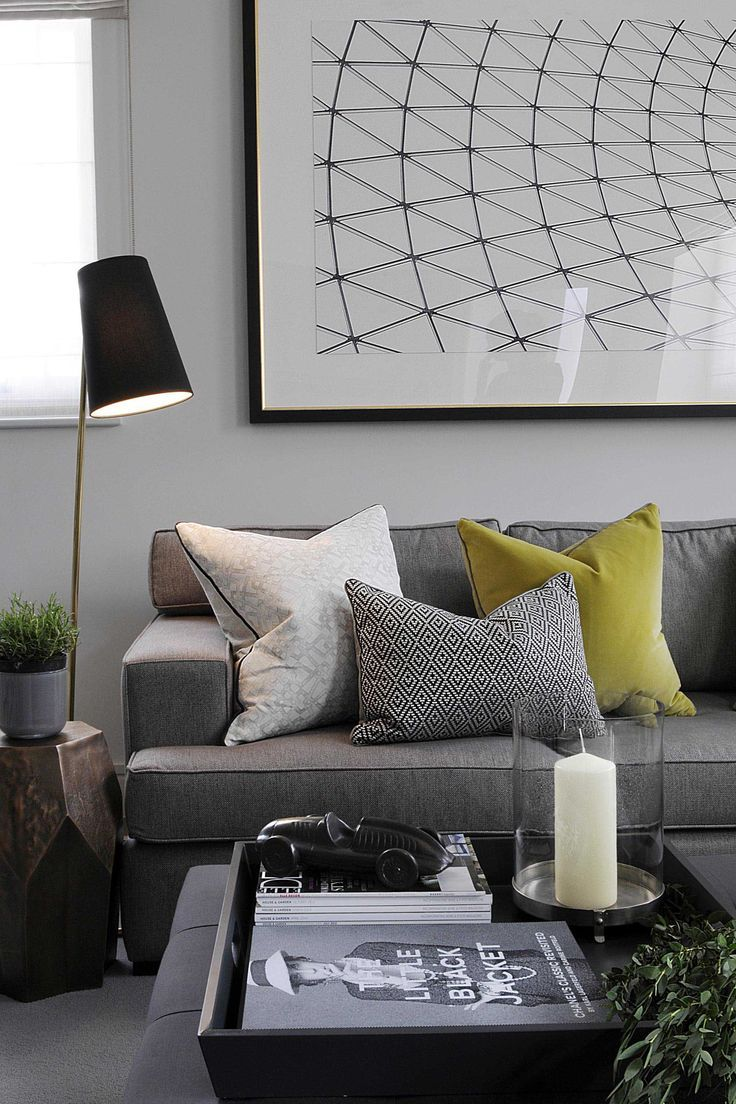 How To Brighten Up Your Grey - Modern Designer Furniture and Sofas