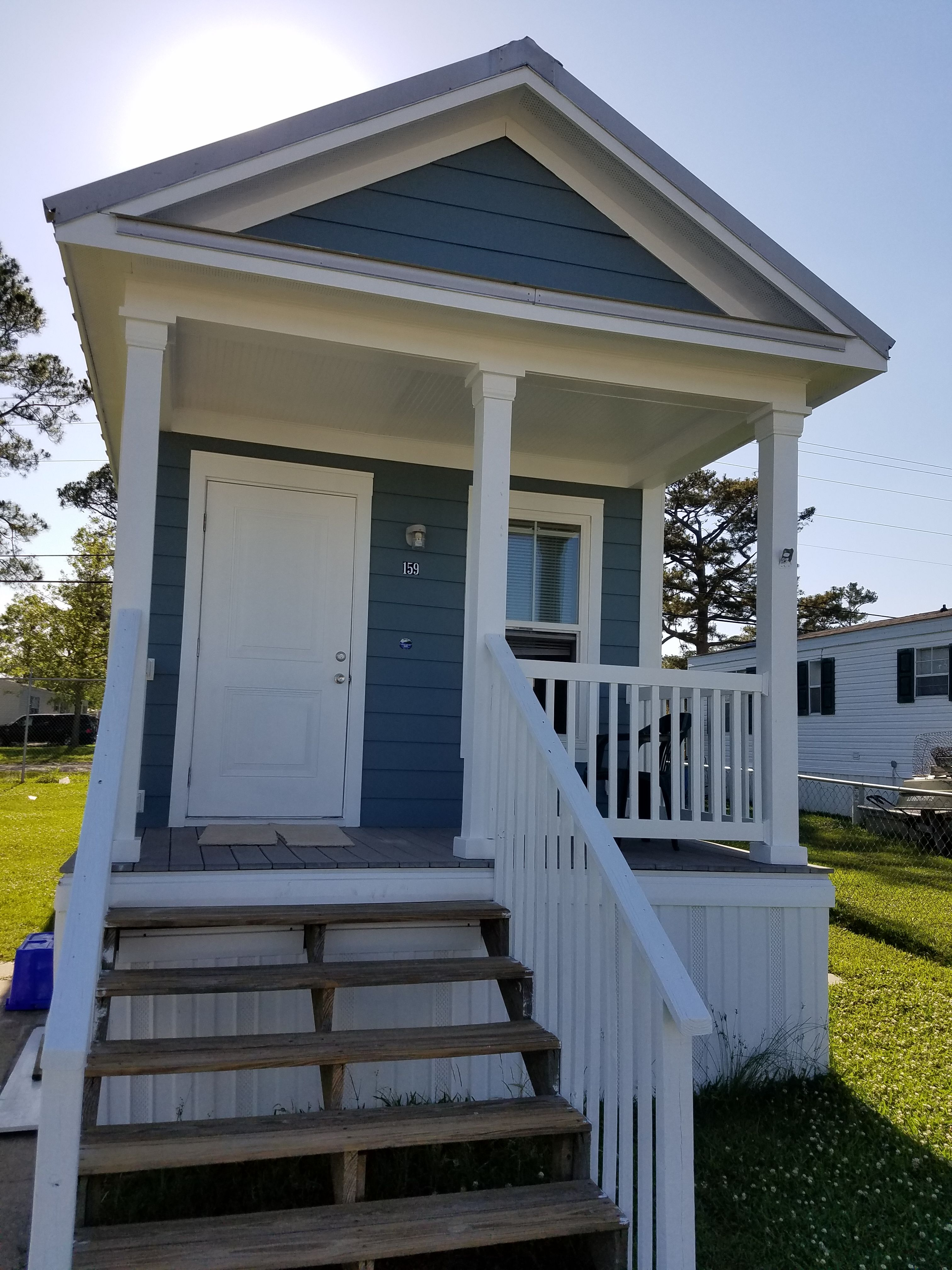 1Br/1Ba Katrina Cottage For Sale. 12u0027 X 40u0027   480 Sq.ft. Under Roof And 396  Sq.ft. Living Space. Very Nice! Must See To Appreciate!