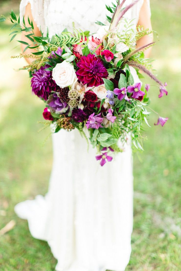 Autumn Wedding Bouquet | fabmood.com
