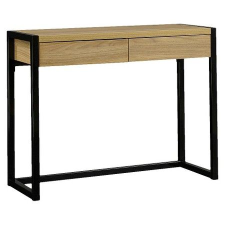 Desk Wood Metal Black Room Essentials Target Black Rooms Wood Desk Room Essentials