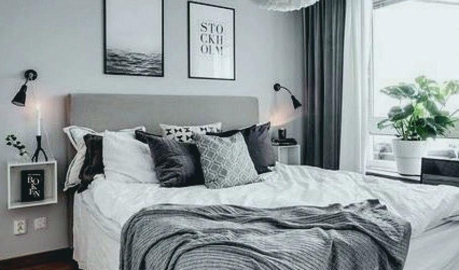 Schlafzimmer Schwarz Weiß Ikea