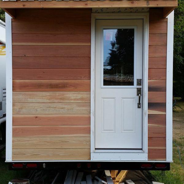 tiny house no loft. 32\u2032 Tiny House On Wheels Shell With No Loft S