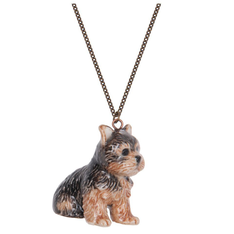Yorkie necklace for adornment and function pinterest jewel yorkie necklace aloadofball Gallery