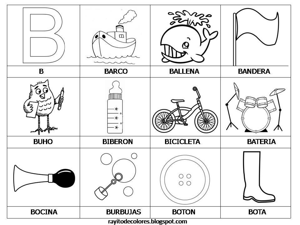 Palabras con B | abc | Pinterest | Palabras, Rayo y Alfabeto
