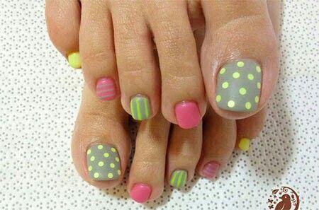 Spring pedi - Spring Pedi Toenail Designs Pinterest Pedicures, Toe Nail