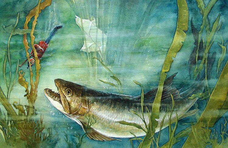 El soldadito de plomo. Ilustración de PJ Lynch. -soldier-fish_pjlynch.jpg (750×488)