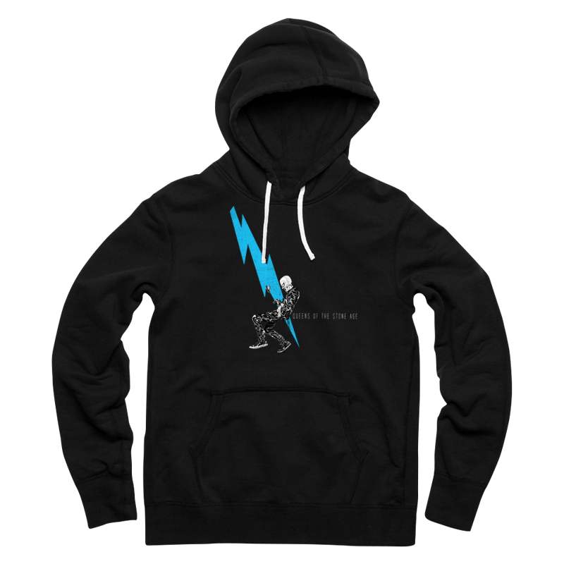 Lightning Dude Pullover Hoodie - Queens of the Stone Age   Hoodies, Pullover, Pullover hoodie