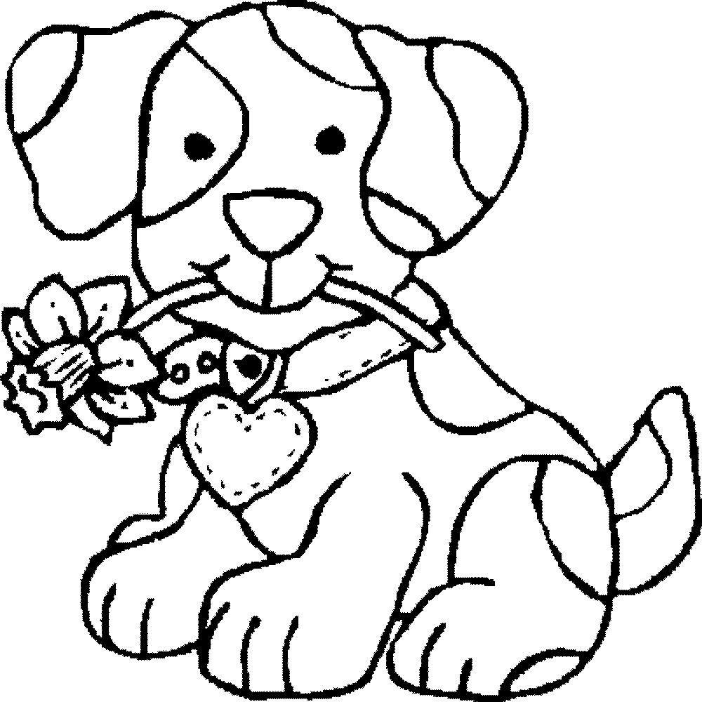 http://colorings.co/dog-coloring-pages-for-kids/ #Coloring, #Dog ...
