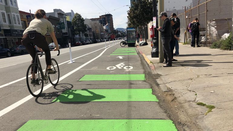 Paint Isn T Protection Bike Lanes Need Barriers With Images