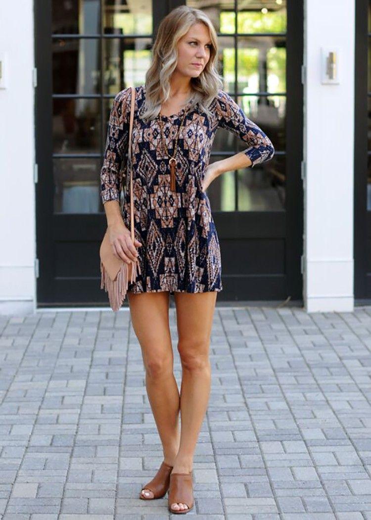 Veronica M gable long sleeve tunic, printed tunic, tunic style ...