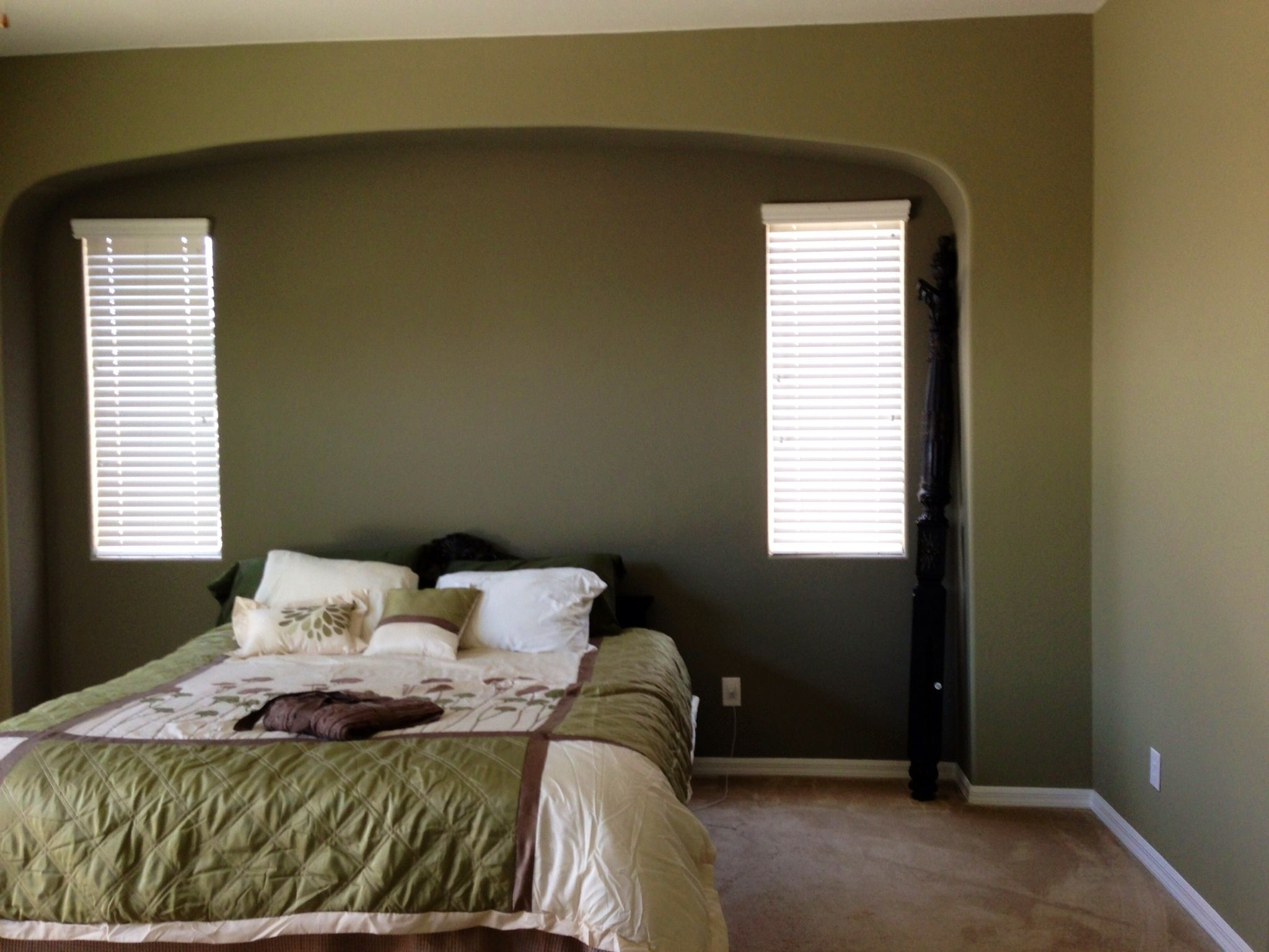 Sherwin Williams Herbal Wash With Restoration Color In Inset. Restoration Paint ColorsThe HouseBedroom IdeasWalls