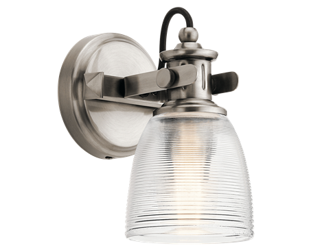 Flagship 1 Light Wall Sconce Clp Wall Sconce Lighting Sconces Wall Sconces