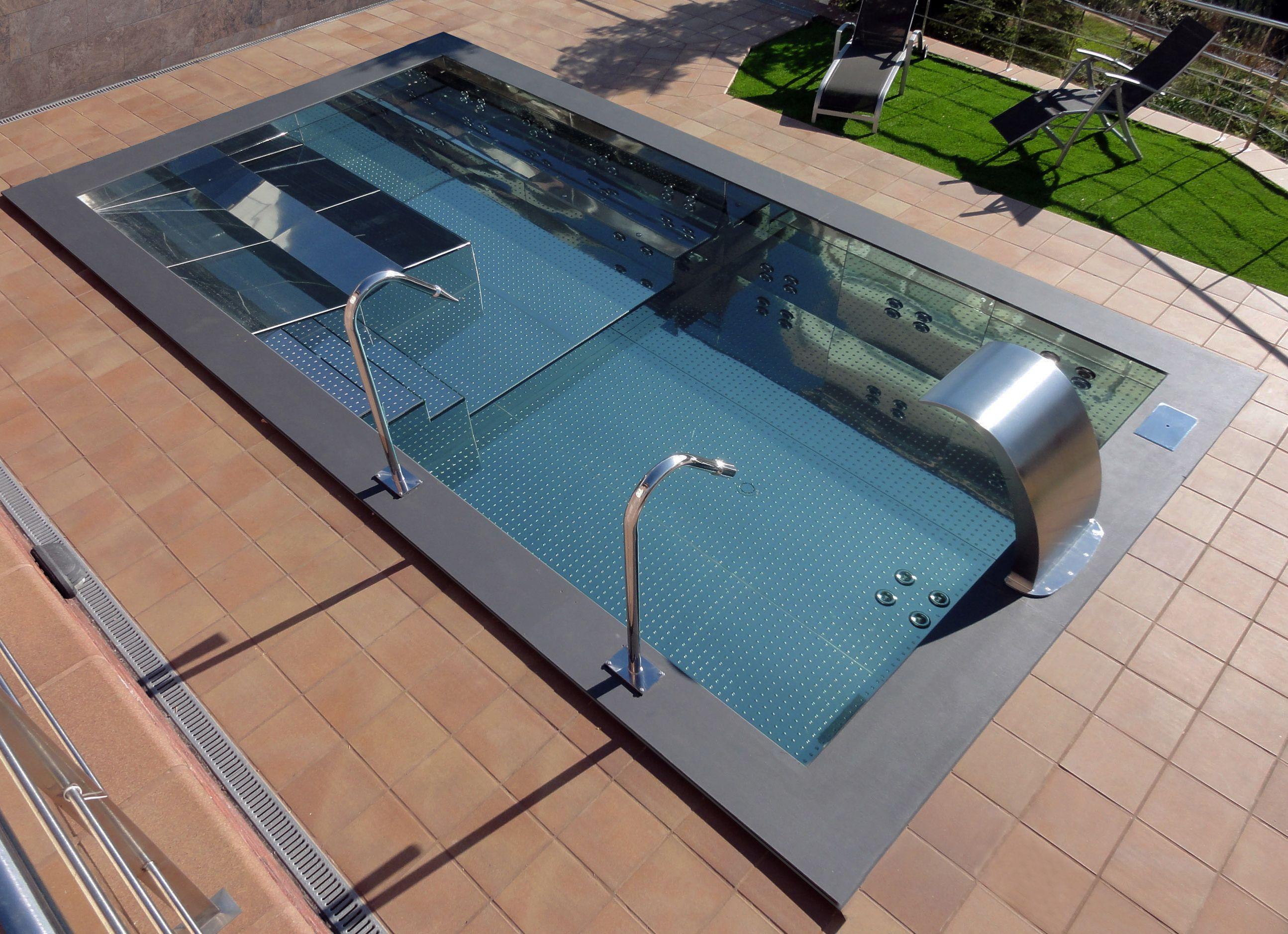 piscine inox spa de nage