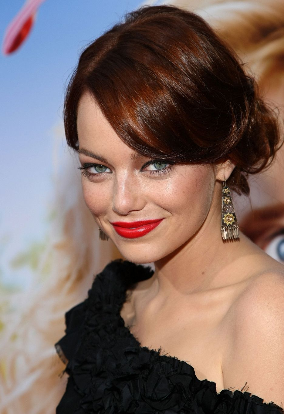 Emma Stone Hairstyles Pinterest Emma Stone And Maybelline