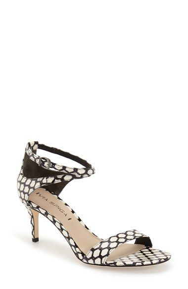 d5db9b52d5 Via Spiga 'Leesa' Sandal (Women) available in gold too at #Nordstrom ...