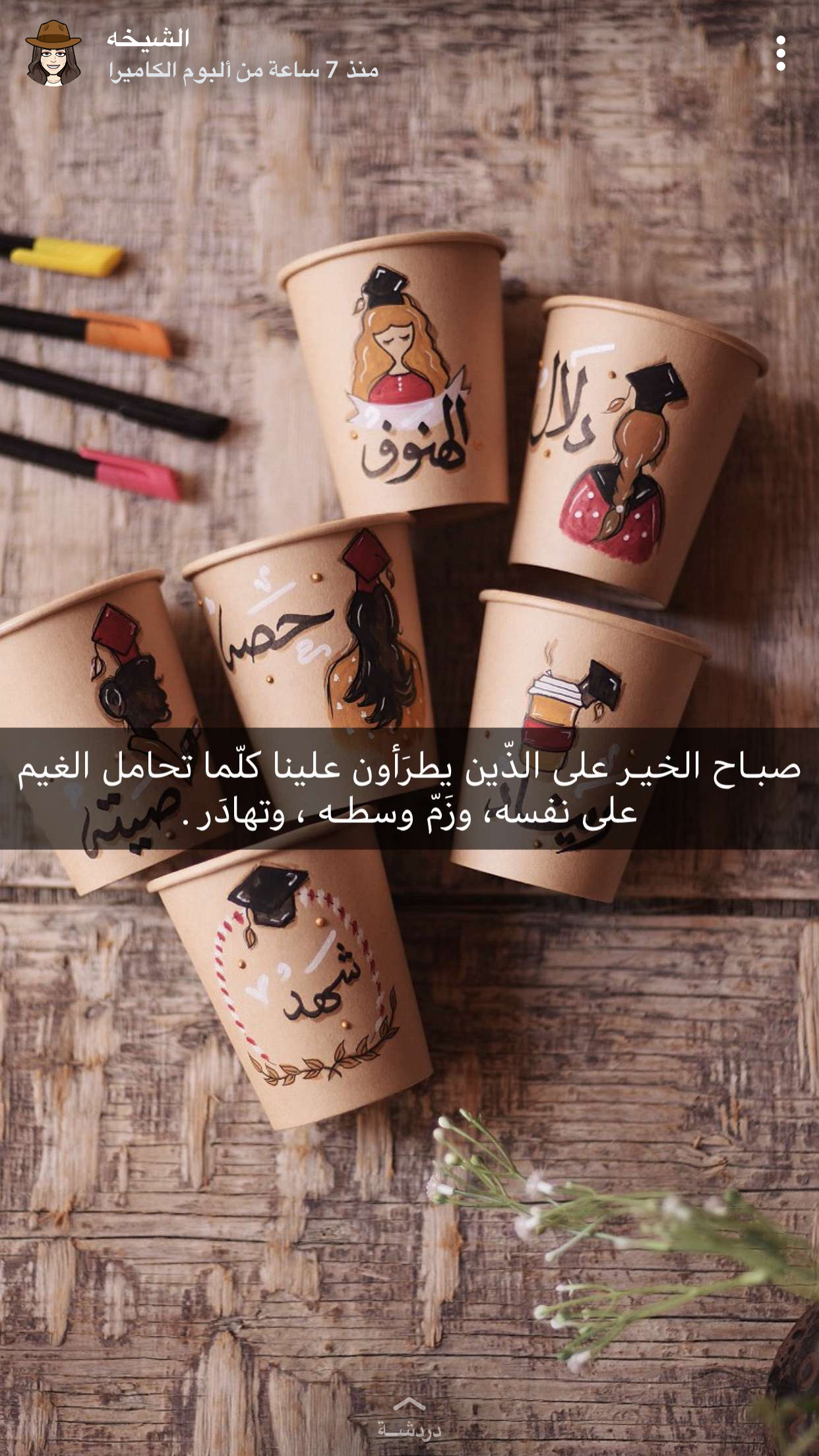 Pin By Reemali21 On توزيعات وهدايا Coffee Cup Art Summer Arts And Crafts Cup Art
