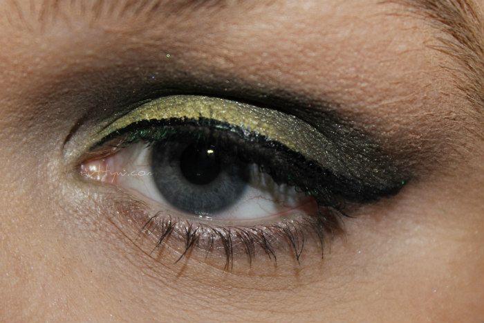 AuttyW: The Green Machine Makeup