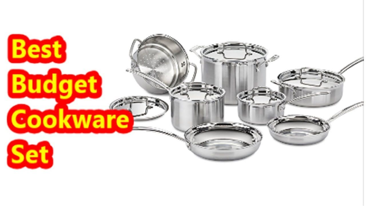 Best budget cookware set cuisinart multiclad pro