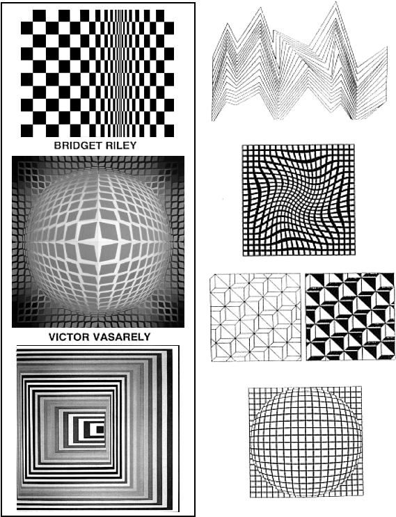 Scribble Drawing Lesson Plan : Op art lesson plan crafty crafts pinterest