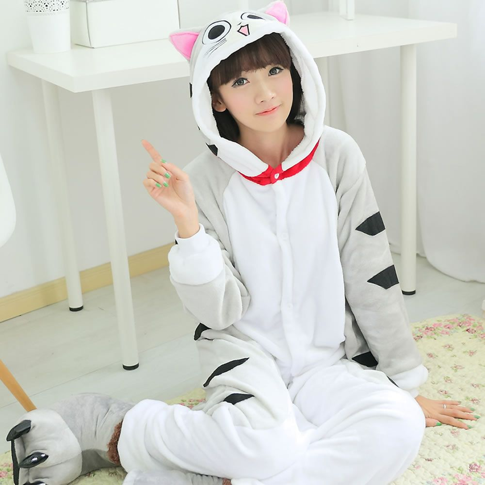 Flannel family animal pajamas one piece onsies onesies