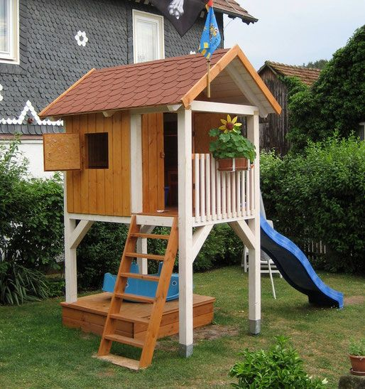 spielturm bauen zu hause spielturm selber bauen kinder spielhaus garten und spielturm. Black Bedroom Furniture Sets. Home Design Ideas