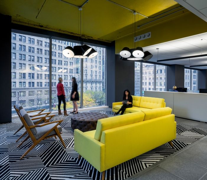Initiative Media New York City Offices Design ByTed Moudis Associates Photo By Magda Biernat