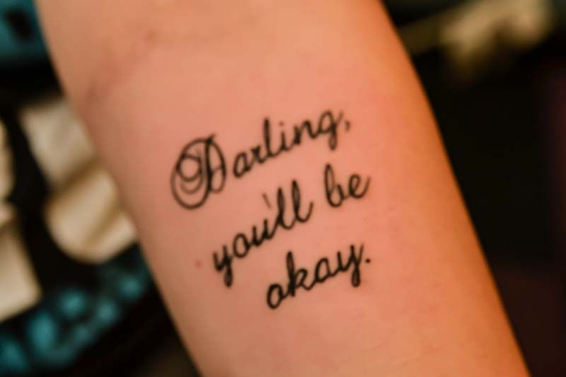 Tattoo Lettering and Scripts Gallery Tattoos Ink Your World