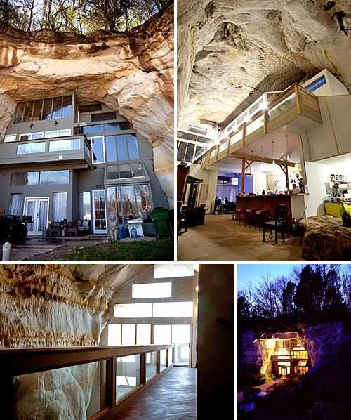 This Cave Is Residence To The Sleeper Family Who Live In A - Gigantic underground trampoline inside cave looks amazing