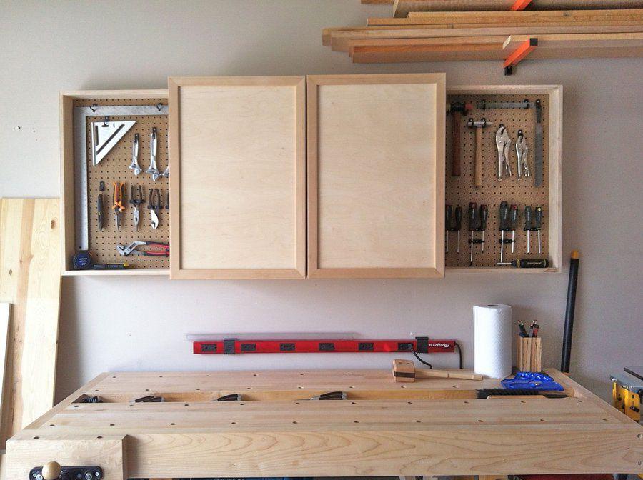Wall Mounted Hand Tool Cabinet   By Nwbusa @ LumberJocks.com ~ Woodworking  Community