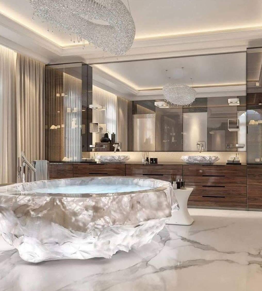 Pin By A Goddess Wrld On Home Ideas Bathroom Decor Luxury Bathroom Design Luxury Dream Bathrooms