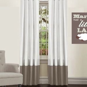 Image Result For Two Colours Curtain Custom Made