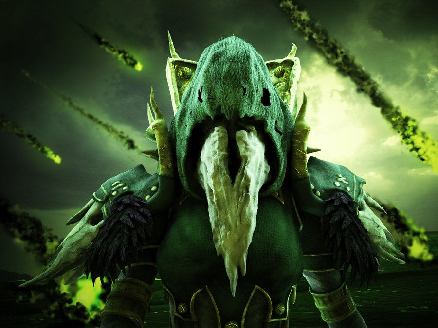 Green Fire Warlock Wallpaper En 2019