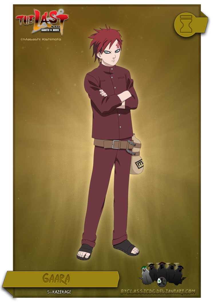 Gaara by byClassicDG