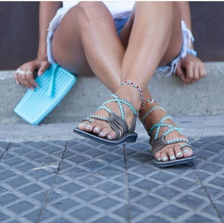 cb0688c3c387b The cutest sandals you ll ever need 💙🖤 available online   in store while  supplies last! Authentic Plaka Sandals