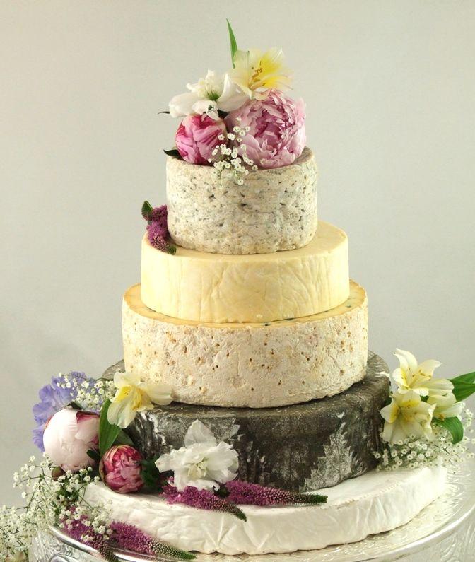 Cheese Tower Cake, Unique Alternative Wedding Ideas. www ...