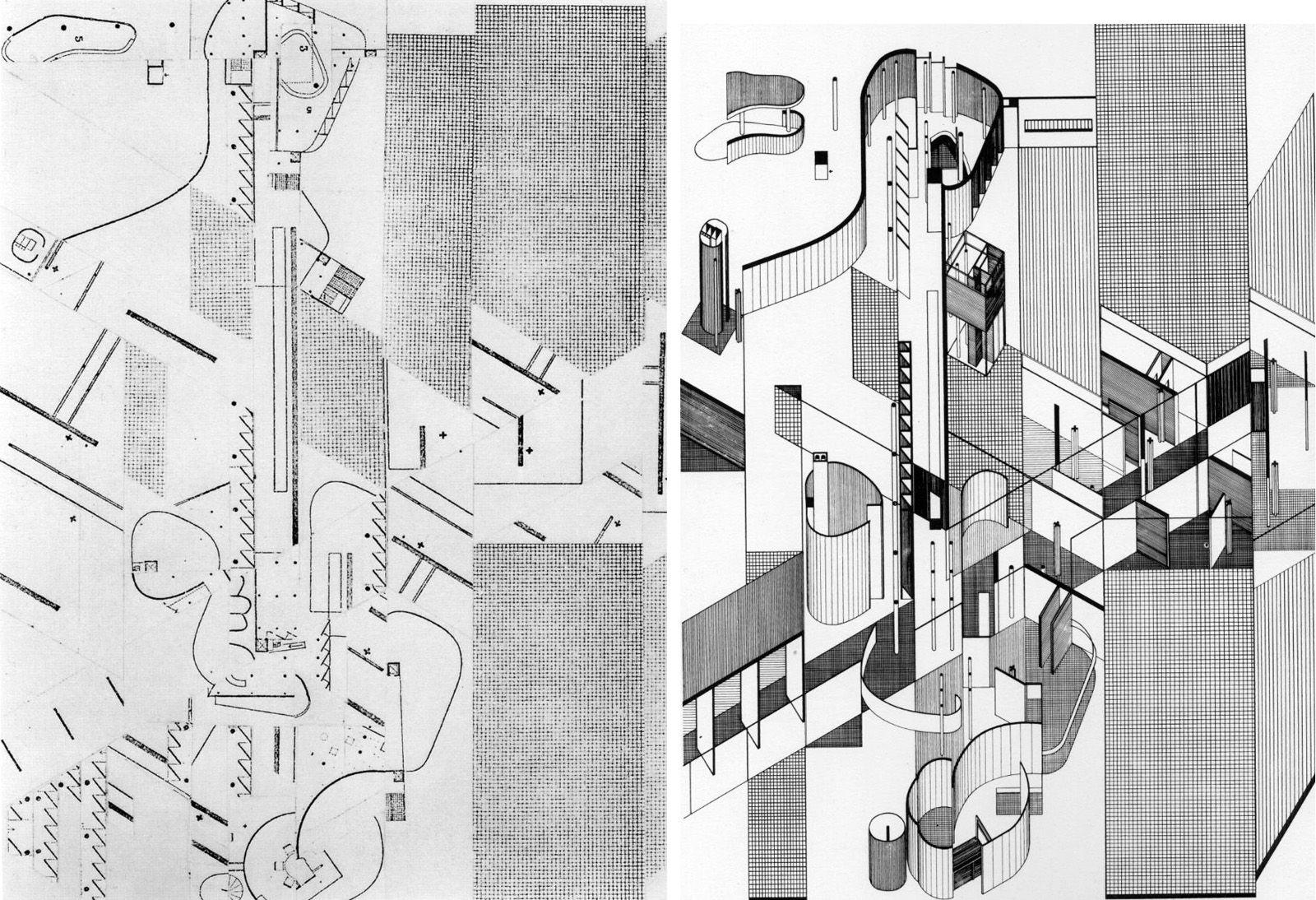 daniel libeskind gordon matta clark architecture student types of architecture architecture layout  [ 1600 x 1094 Pixel ]