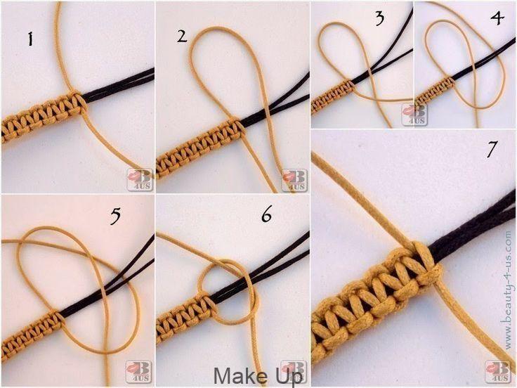 Photo of Beauty4Us: DIY: Armband in Makramee, #armband # beauty4us #makramee