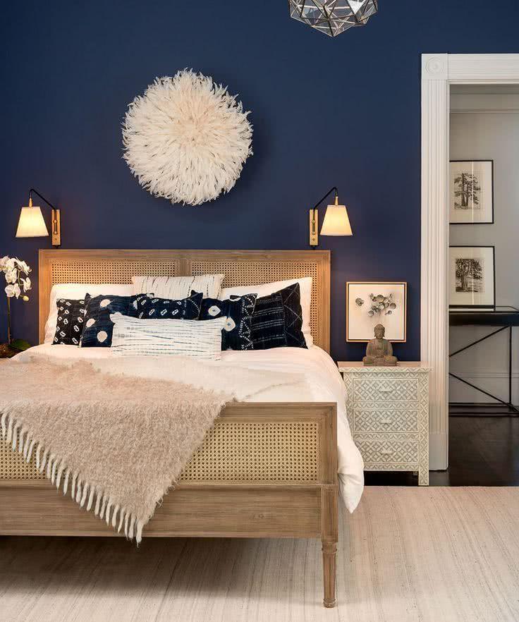 Colores Para Habitaciones 2018 Y 2017 Modernos 65 Fotos E Ideas Bonitas Popular Bedroom Colors Best Bedroom Colors Blue Bedroom Walls