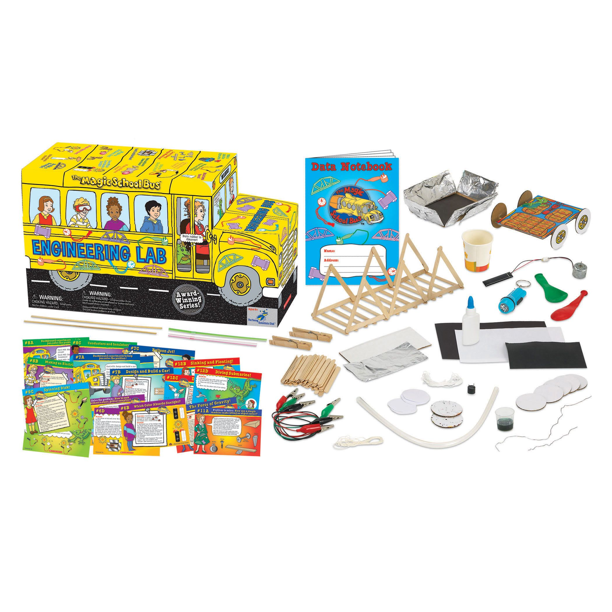 The Young Scientists Club The Magic School Bus Engineering