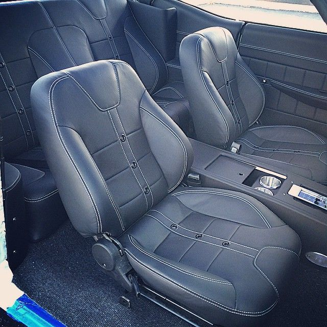 Car Grey With Dark Blue Trim Custom Interior Design Google Search