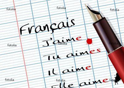 Mots Francais Lingua Francese Scuola Francese