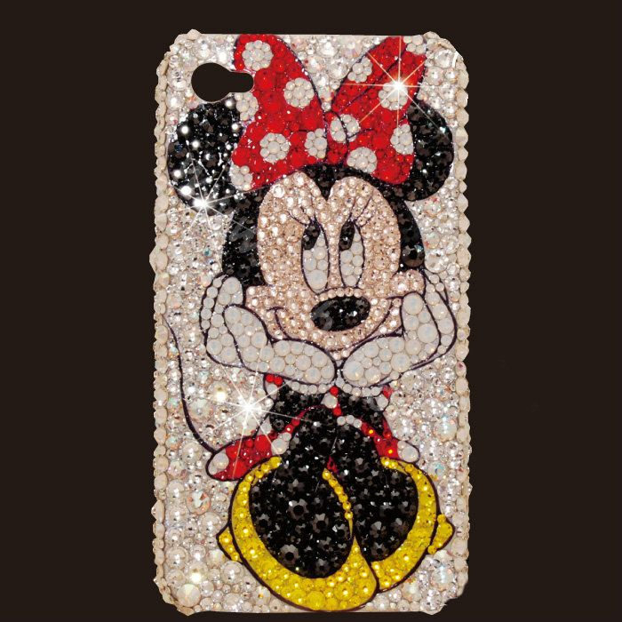 WALT DISNEY - Cover Iphone 5 / 5s / Se Design Minnie / pois