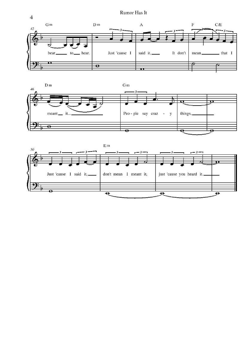Page Four Music Pinterest Sheet Music