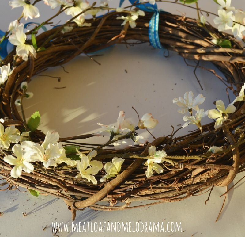 Photo of Rustic Easter Egg Wreath – Meatloaf and Melodrama