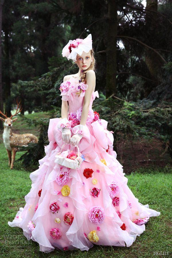 TIGLILY Spring/Summer 2015 Wedding Dresses   Vestidos con flores ...