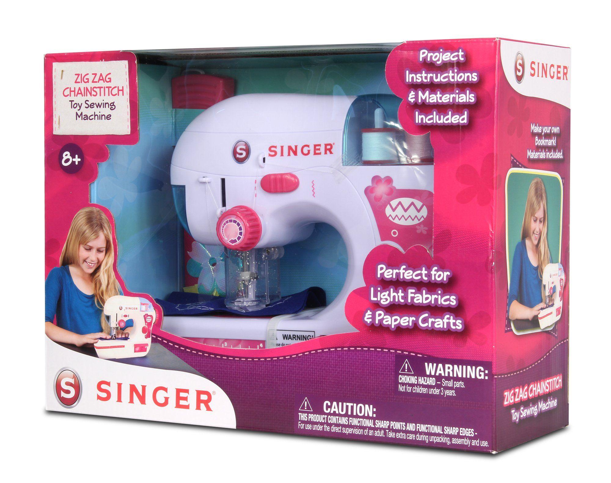 NKOK B/O Singer Zigzag Chainstitch Sewing Machine Remote ...