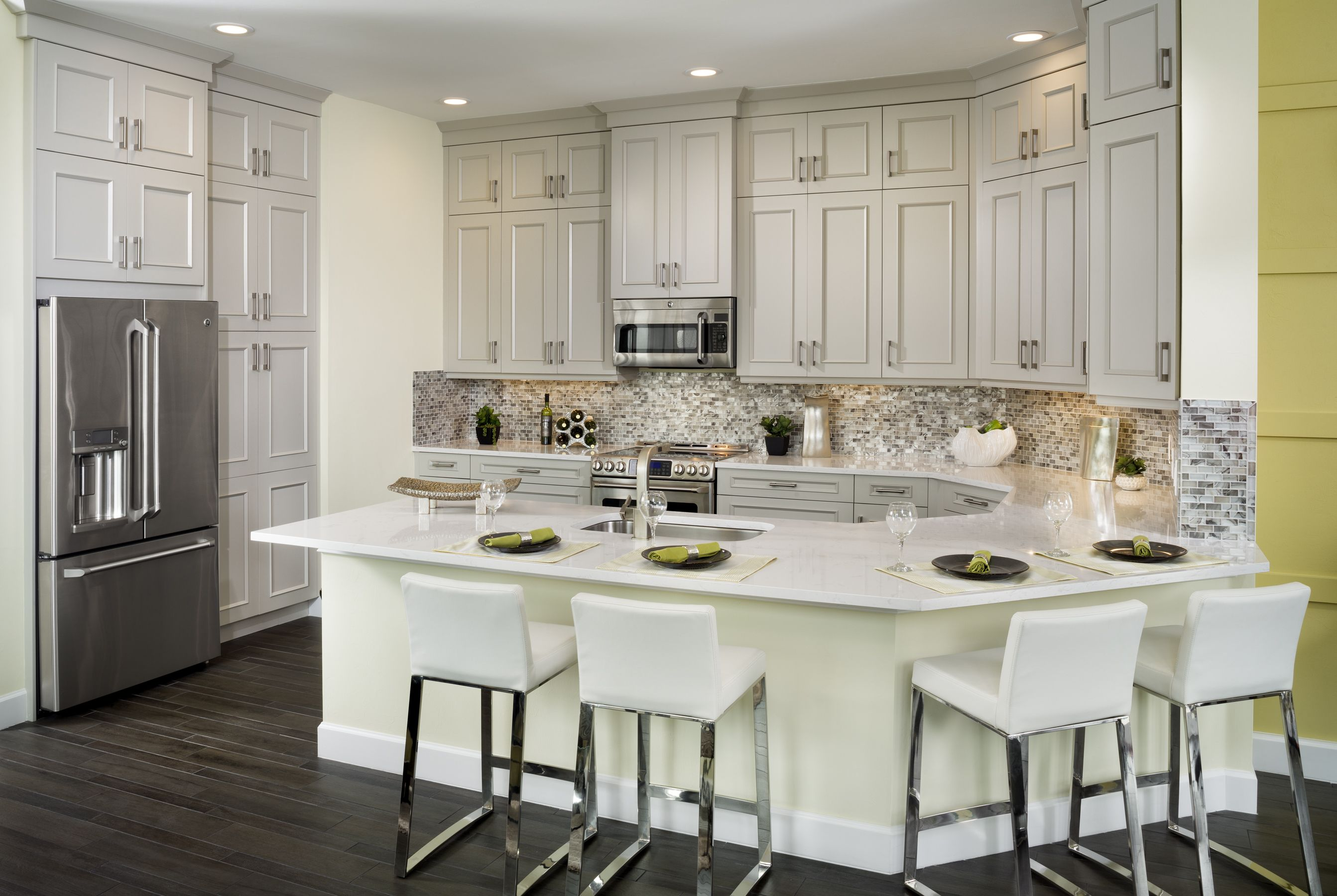 Mimosa Model At The Isles Of Collier Preserve By Minto Communities White Kitchen Cabinets Sweet Home White Kitchen