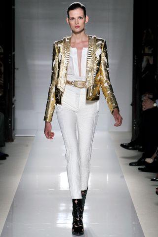 Balmain. Paris Fashion Week, primavera verano 2012.