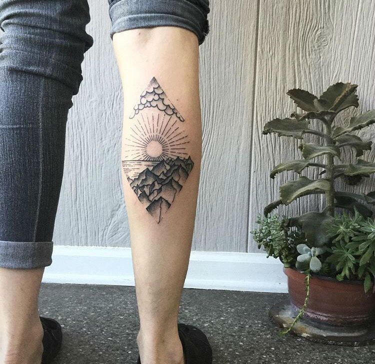 Kerry Burke Tattoos: 30 Epic Mountain Tattoo Ideas