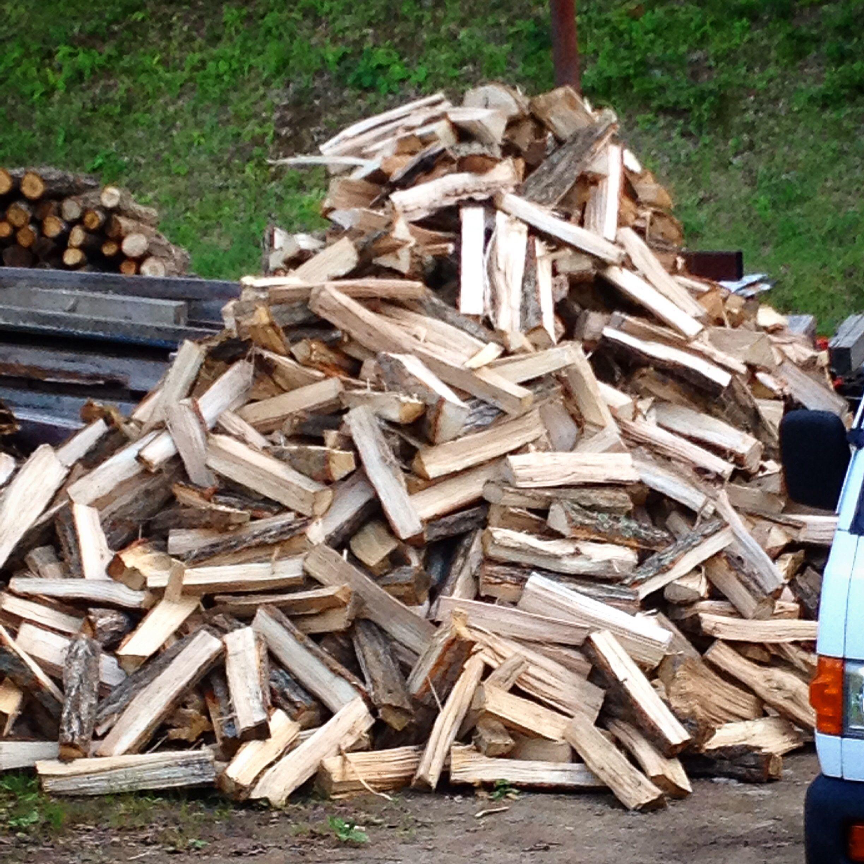 今年の冬用の薪♪